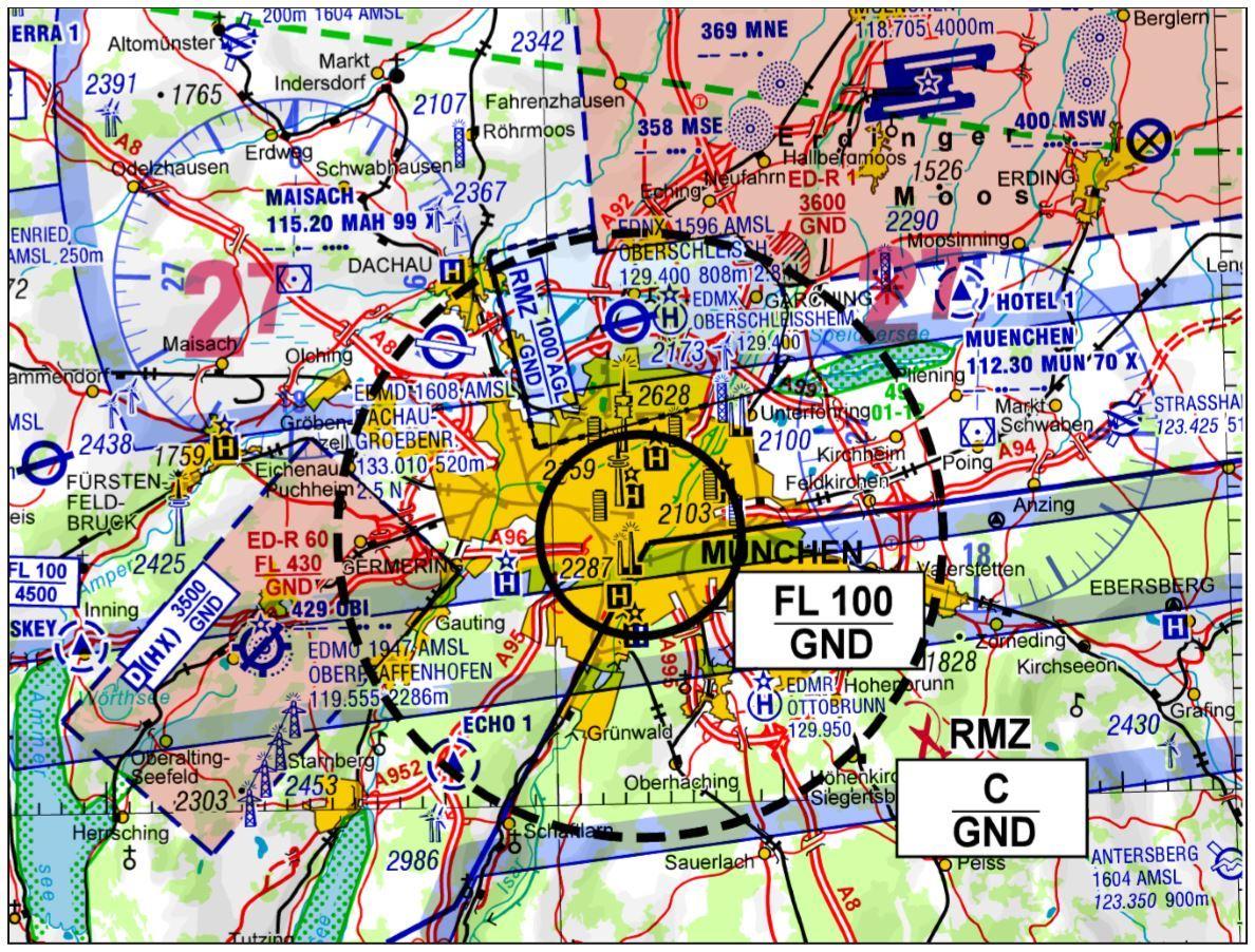 Flugbeschränkung für                                  Drohnen zum Oktoberfest2018
