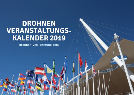 Drohnen Messen und Events2019