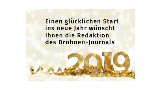 Ein frohes neues Jahr 2019!