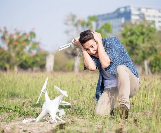 Was beim Drohnenflug passierenkann!