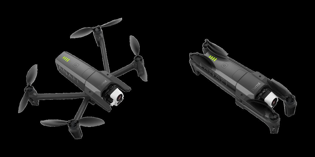 Anafi Thermal von Parrot – Fliegende Wärmebildkamera imKompaktformat