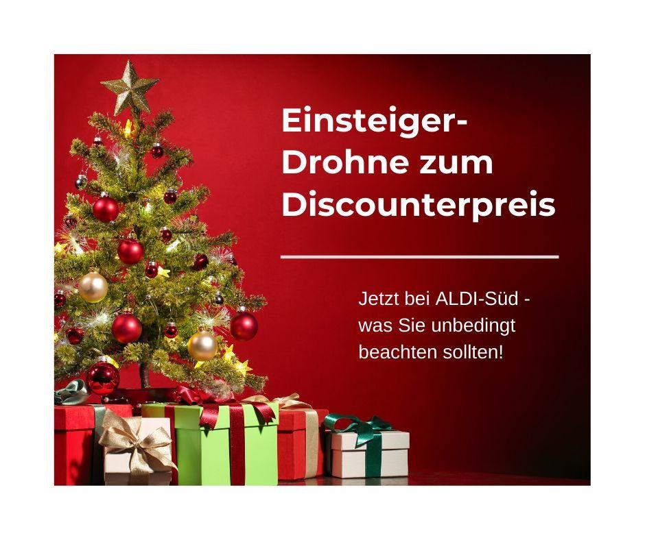 Kamera-Drohnen – jetzt bei ALDI im Weihnachts-Sortiment