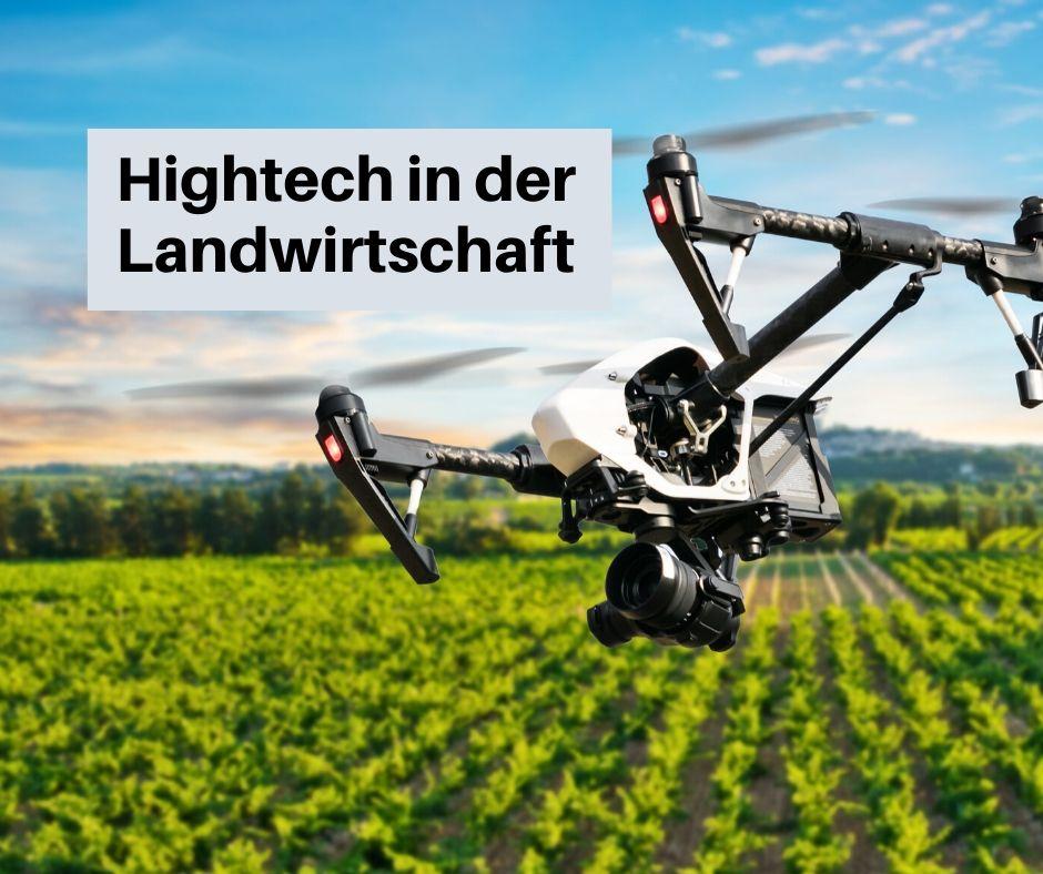 Mit Drohnen auf dem Weg zum optimalenAnbau