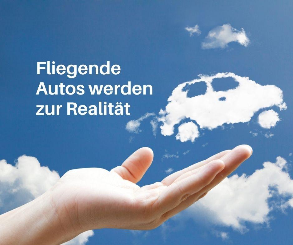 Das fliegende Autos ist keine Visionmehr!