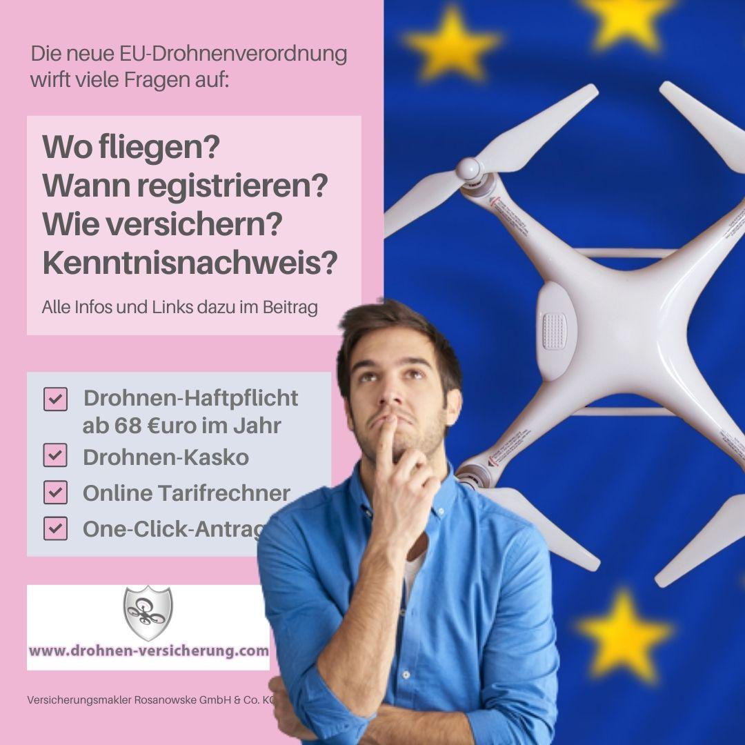 Fragen und Antworten zur neuen EU-Drohnenverordnung