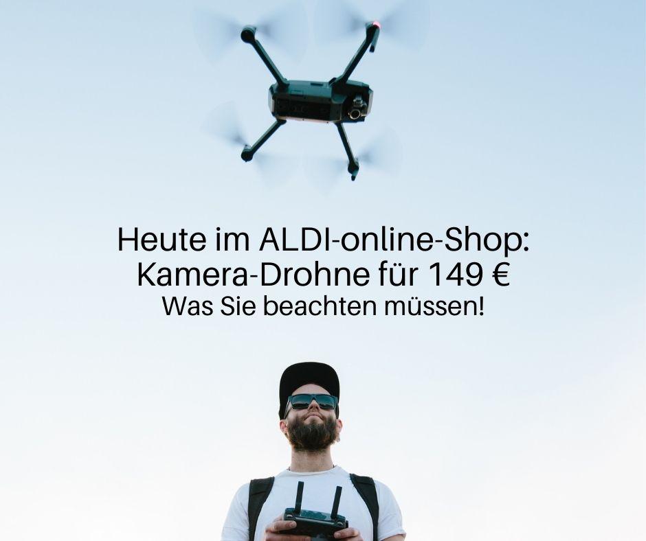 Kamera-Drohne für 149 € im ALDI-online-Shop