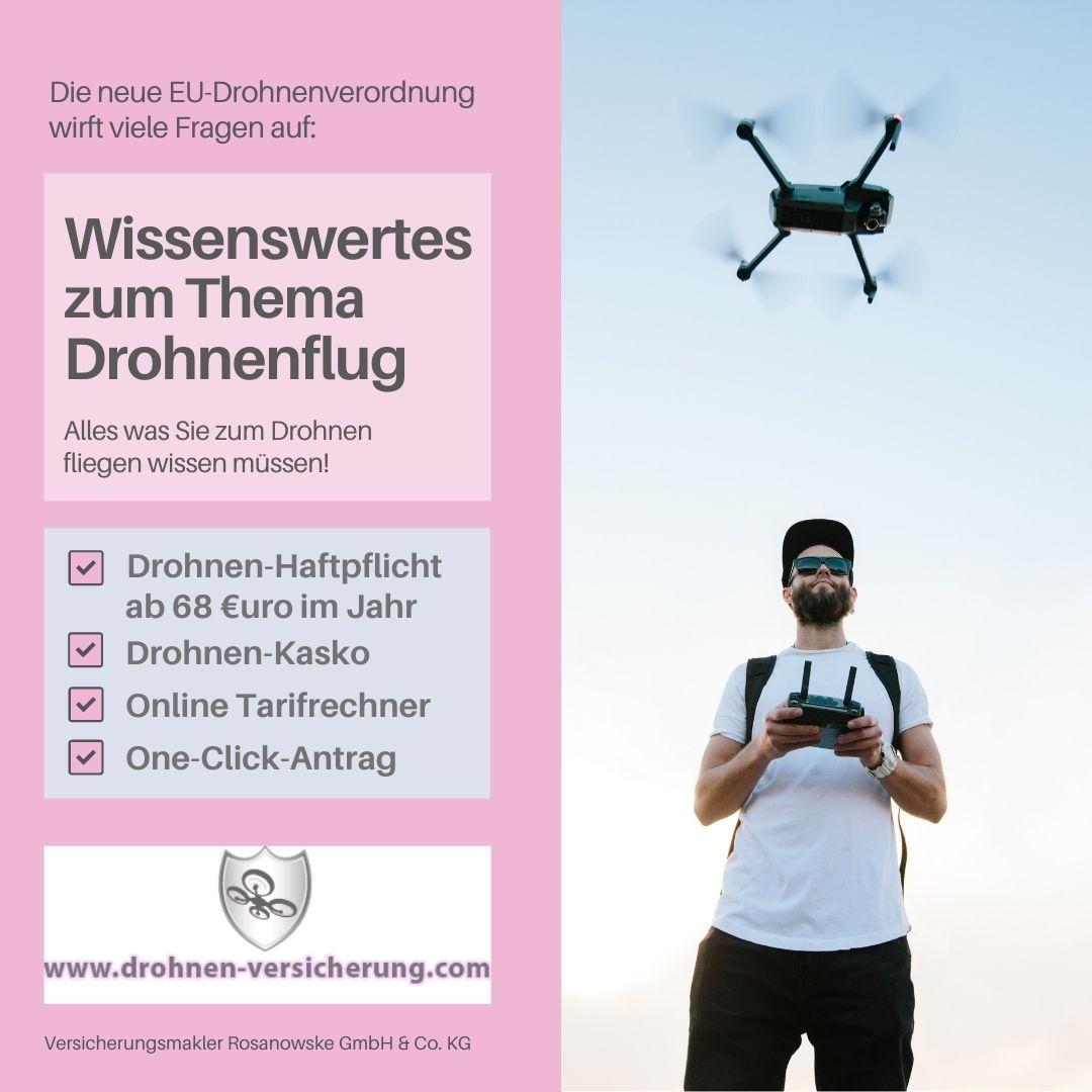 Ausbildung zum Drohnenpiloten – Führerschein einfach digitalerwerben