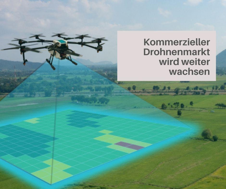 Gewerblich genutzte Drohnen imAufwind